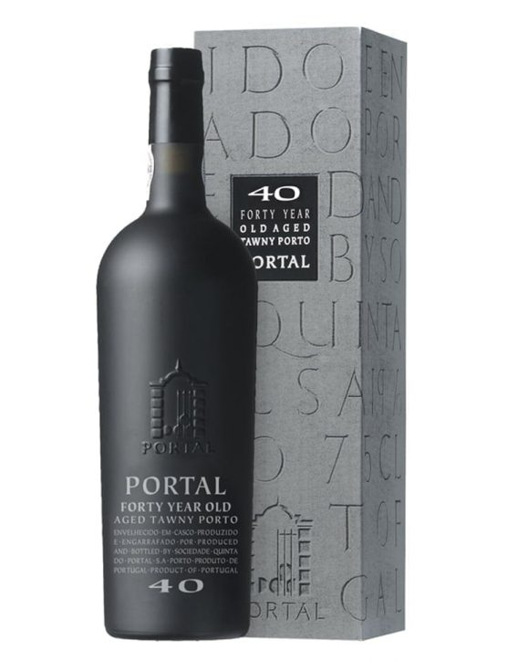 A Bottle of Portal Tawny 40 Years Old Tawny Port
