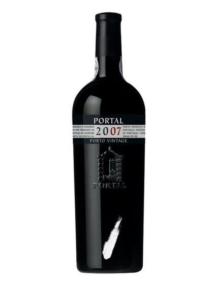 A Bottle of Portal Vintage 2007 Port
