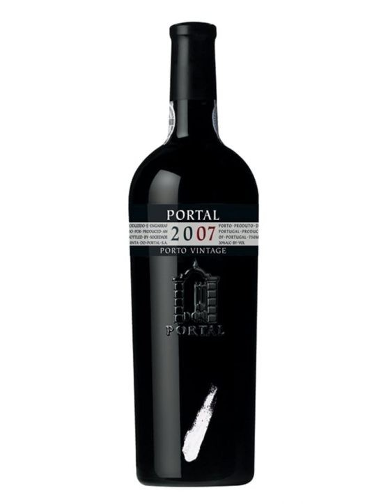 A Bottle of Portal Vintage 2007 Port