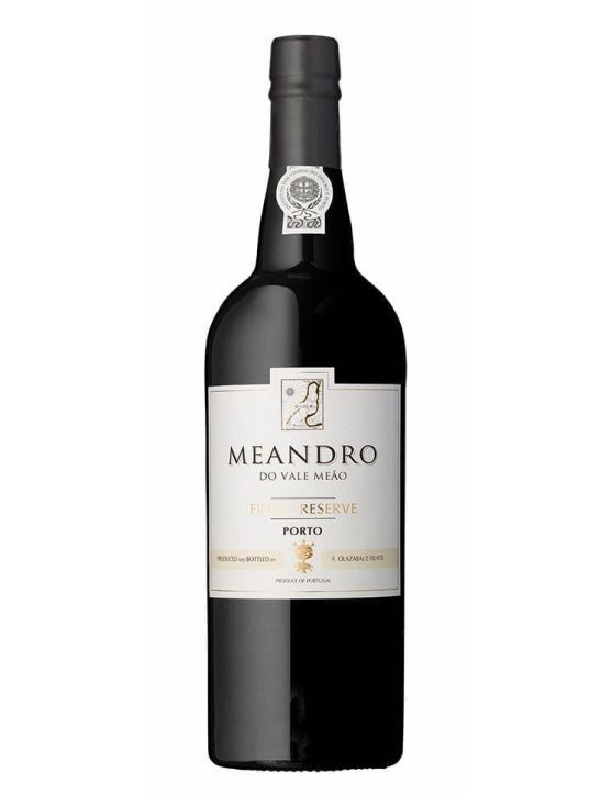 A Bottle of Meandro Finest Reserve Ruby