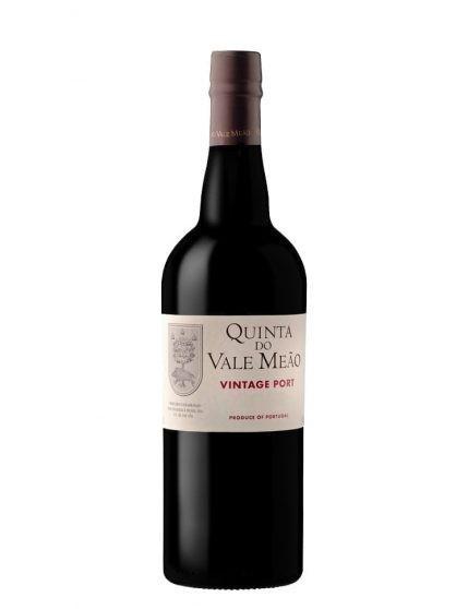 Une bouteille de Quinta do Vale Meão Vintage 2015