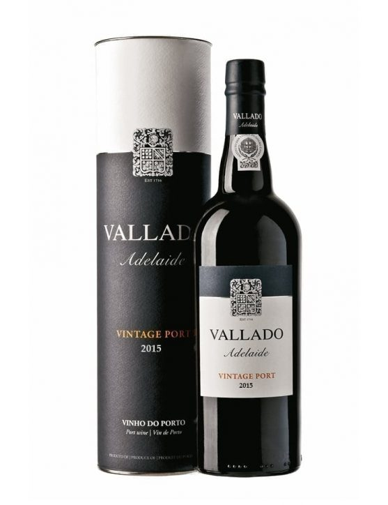 A Bottle of Quinta do Vallado Adelaide Vintage 2015
