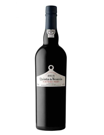 A Bottle of Quinta do Vesuvio Vintage 2015 Port