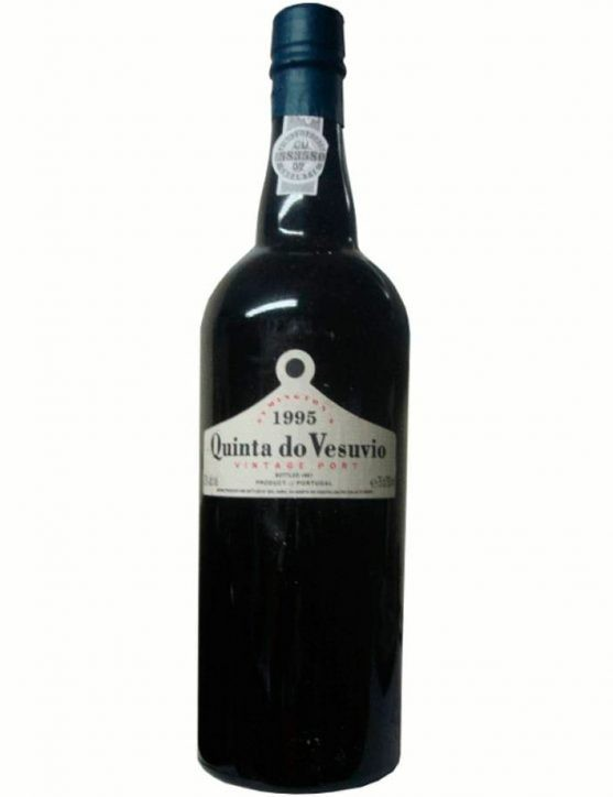 A Bottle of Quinta do Vesúvio Vintage 1995 Port Wine