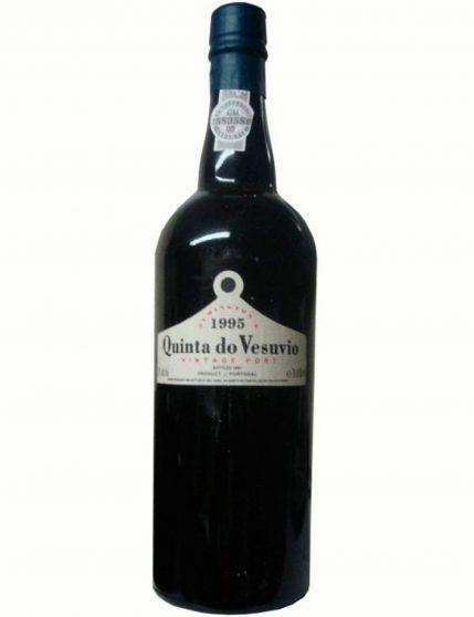 Une bouteille de Quinta do Vesúvio Vintage 1995 (6x75cl)