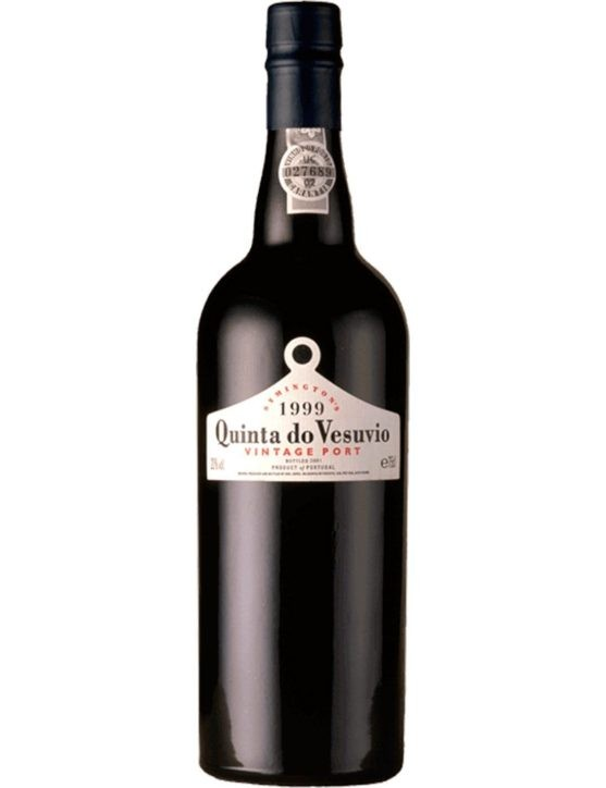 A Bottle of Quinta do Vesúvio Vintage 1999 (6x75cl) Port Wine