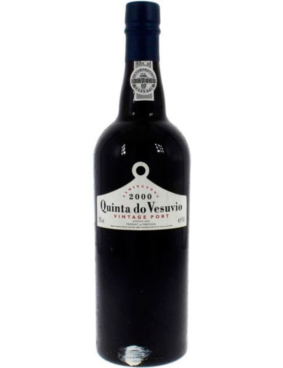 A Bottle of Quinta do Vesúvio Vintage 2000