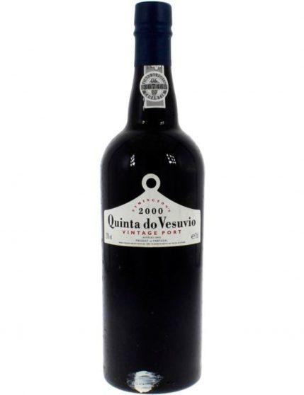 Une bouteille de Quinta do Vesúvio Vintage 2000 (6x75cl)