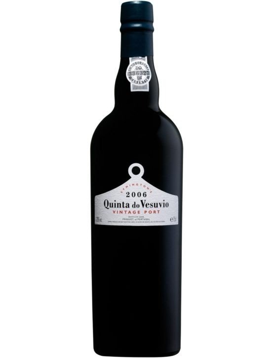 A Bottle of Quinta do Vesúvio Vintage 2006