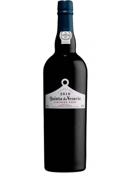 A Bottle of Quinta do Vesúvio Vintage 2010 Port Wine
