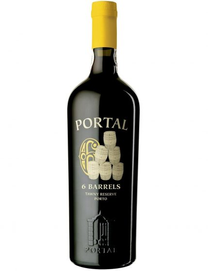 A Bottle of Quinta do Portal 6 Barrels