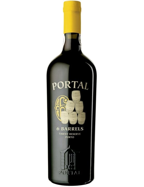 A Bottle of Quinta do Portal 6 Barrels