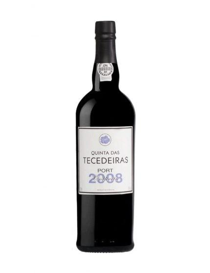 A Bottle of Quinta das Tecedeiras Harvest 2008