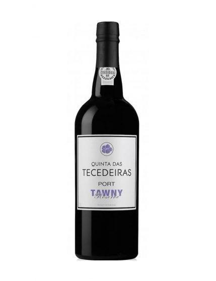 Eine Flasche Quinta das Tecedeiras Tawny Reserve