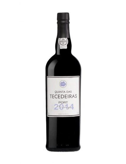 Une bouteille de Quinta das Tecedeiras Vintage 2014