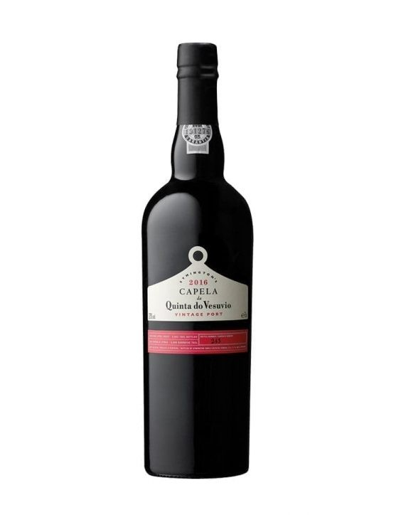 A Bottle of Quinta do Vesuvio Capela Vintage 2016