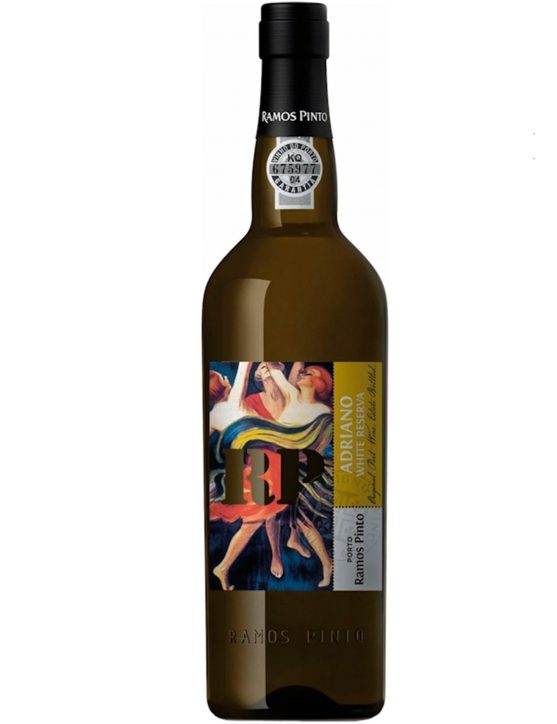 A Bottle of Ramos Pinto Adriano White Reserve