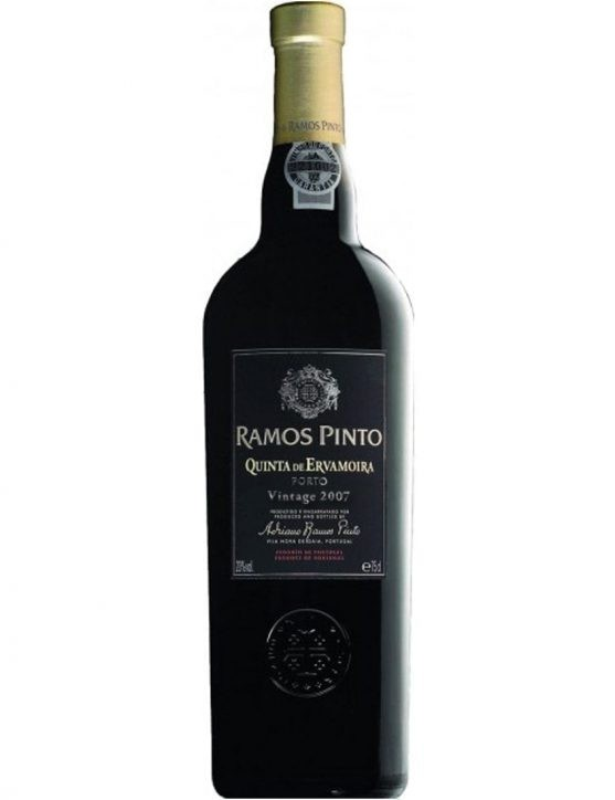 A Bottle of Ramos Pinto Quinta da Ervamoira Vintage 2007