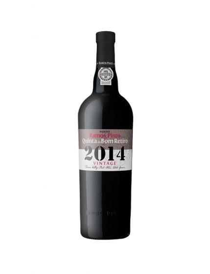 A Bottle of Ramos Pinto Quinta do Bom Retiro Vintage 2014 Port