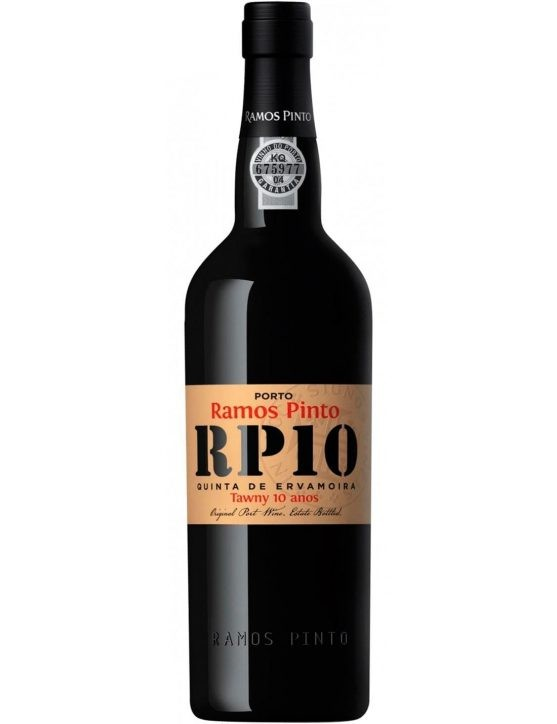 A Bottle of Ramos Pinto Quinta da Ervamoira 10 Years