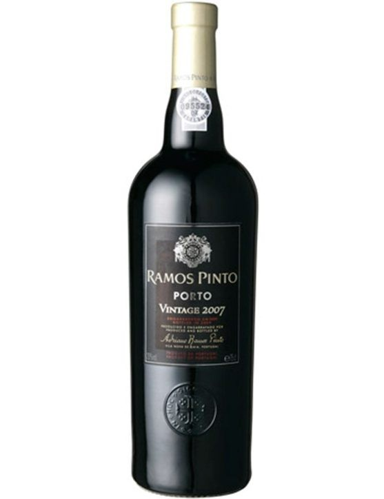 A Bottle of Ramos Pinto Vintage 2007