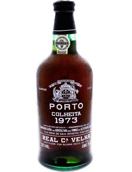 Une bouteille de Real Compania Velha Récolte 1973