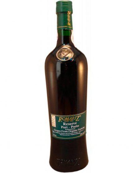 A Bottle of Romariz Ruby Reserve Bio