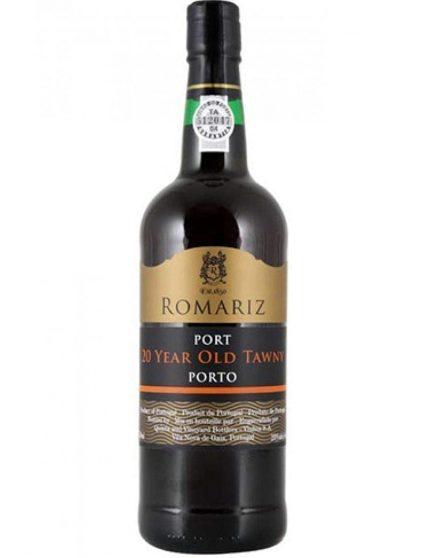 Une bouteille de Romariz Tawny 20 Ans