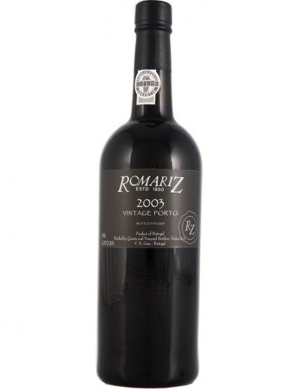 A Bottle of Romariz Vintage 2003 37.5cl Port