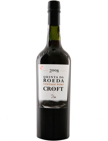 A Bottle of Croft Vintage Quinta da Roeda 2008 1.5l Port