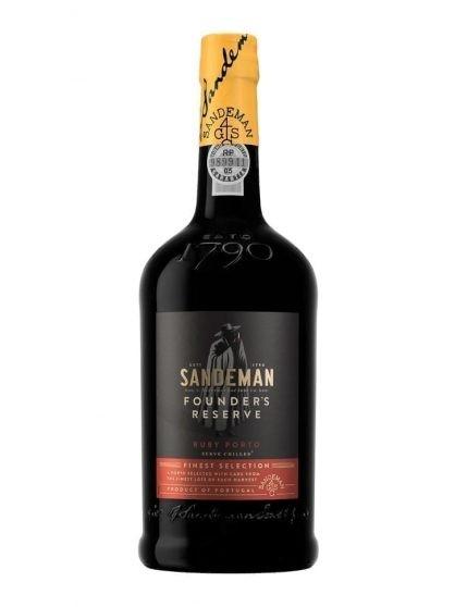 A Bottle of Sandeman Founders Port Wine