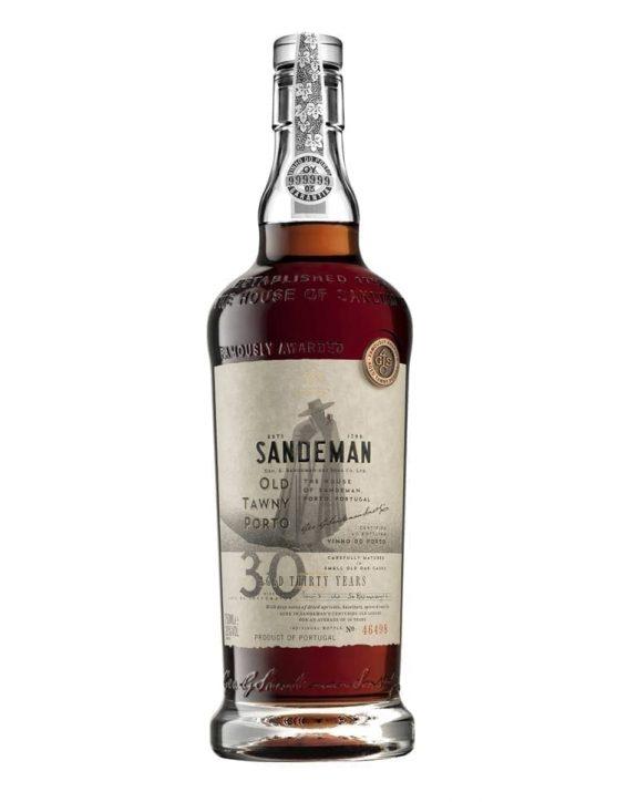 Une bouteille de Sandeman Tawny 30 Ans Porto