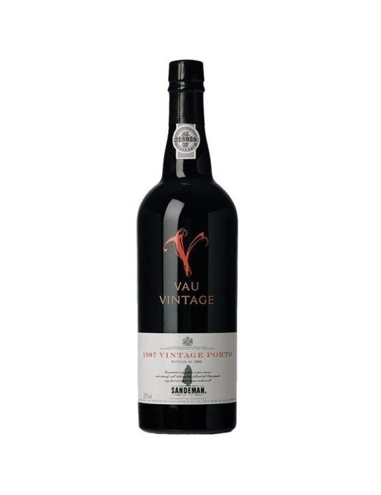 A Bottle of Sandeman Vau Vintage 1997 Port Wine 37.5cl