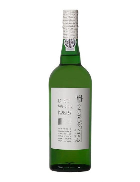 Une bouteille de Seara d'Ordens Porto Blanc Sec
