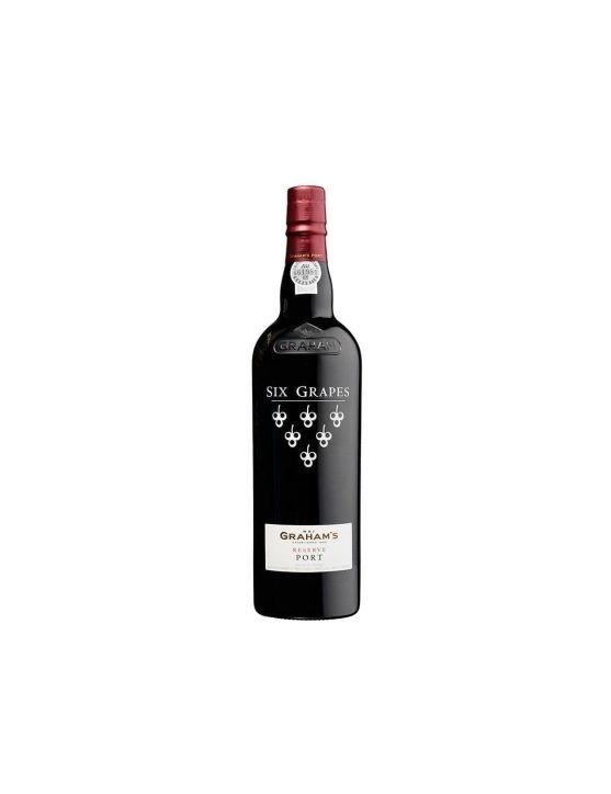 Une bouteille de Graham's Six Grapes 37.5cl