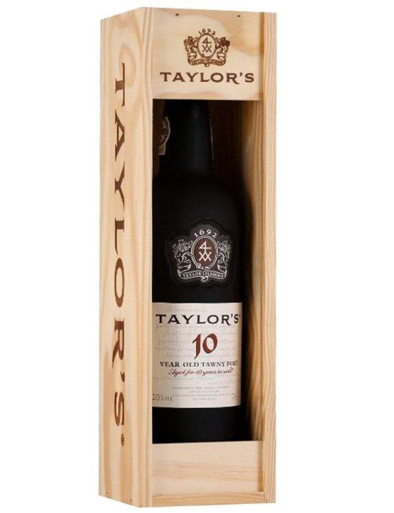 Uma Garrafa de Taylor's Porto 10 Anos 1.5l