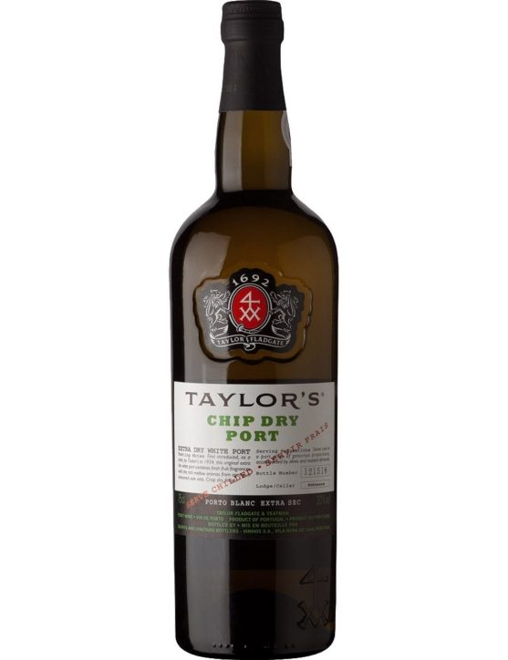 A Bottle of Taylor's Chip Dry Port
