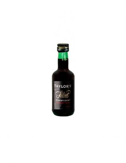 A Bottle of Taylor's Selected Reserve 5cl Port