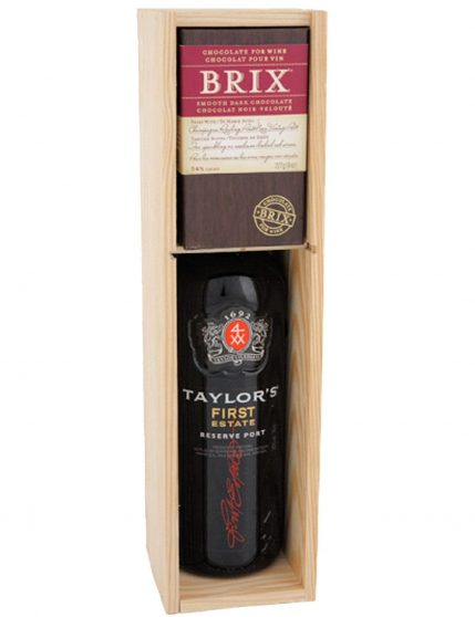 A Bottle of Taylor's Select Reserve + Brix Port