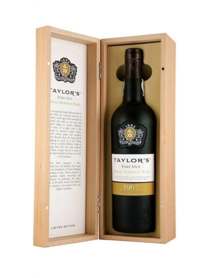 A Bottle of Taylor's Single Harvest 1967 Port