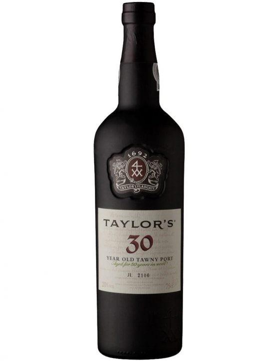 Uma Garrafa de Porto Taylor's Tawny 30 Anos