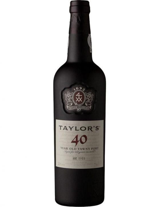 Uma Garrafa de Taylor's Tawny 40 Anos