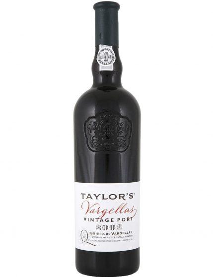 A Bottle of Taylor's Vargellas Vintage 2002 Port