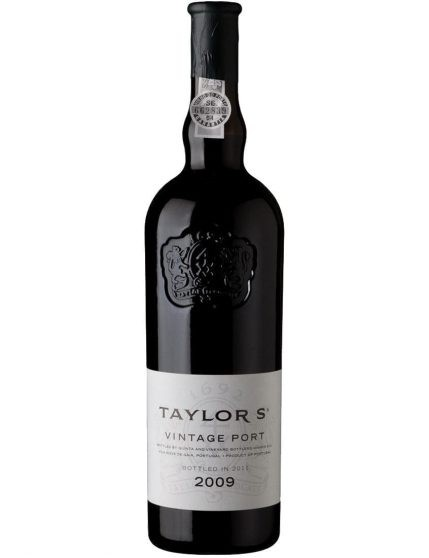 A Bottle of Taylor's Vintage 2009 Port
