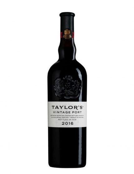 Une bouteille de Taylor's Vintage 2016