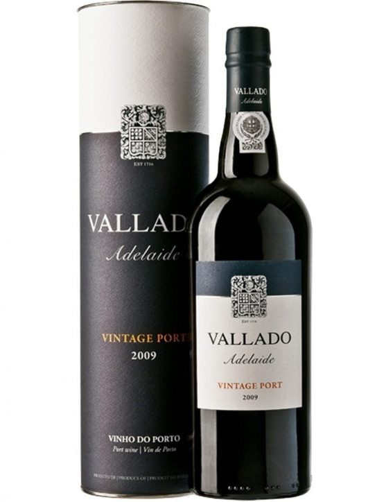 A Bottle of Quinta do Vallado Adelaide Vintage 2009