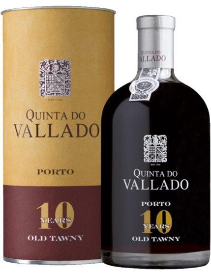 Une bouteille de Quinta do Vallado Tawny 10 Ans