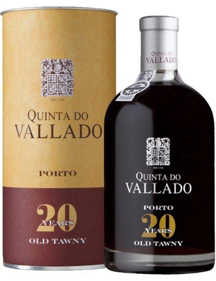Eine Flasche Quinta do Vallado Tawny 20 Jahre
