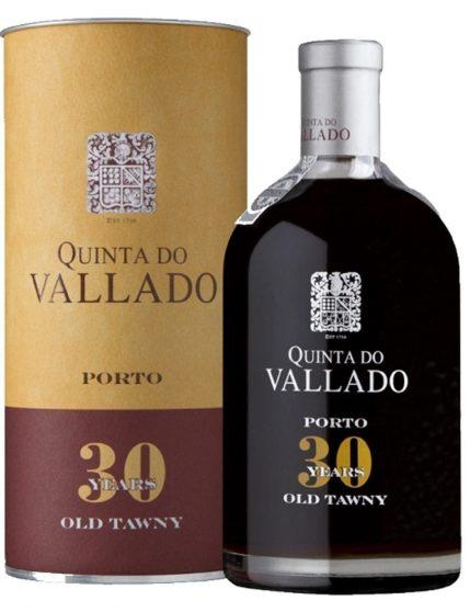 Une bouteille de Quinta do Vallado Tawny 30 Ans