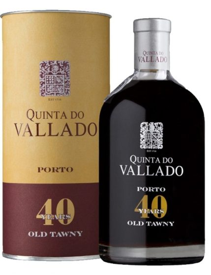 A Bottle of Quinta do Vallado Tawny 40 Years